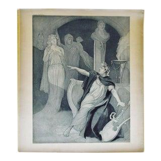 1900 Photogravure of J Steeple Davis' Neron Opera Painting For Sale