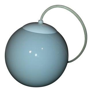 1980s RAAK Opaline Sphere Pendant For Sale