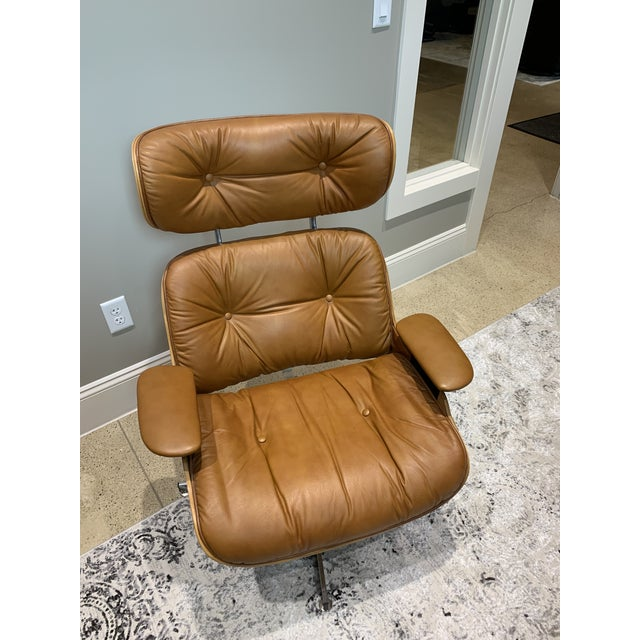 This once in a lifetime Eames style chair & ottoman combo is in great condition and is extremely comfortable. Selig was a...
