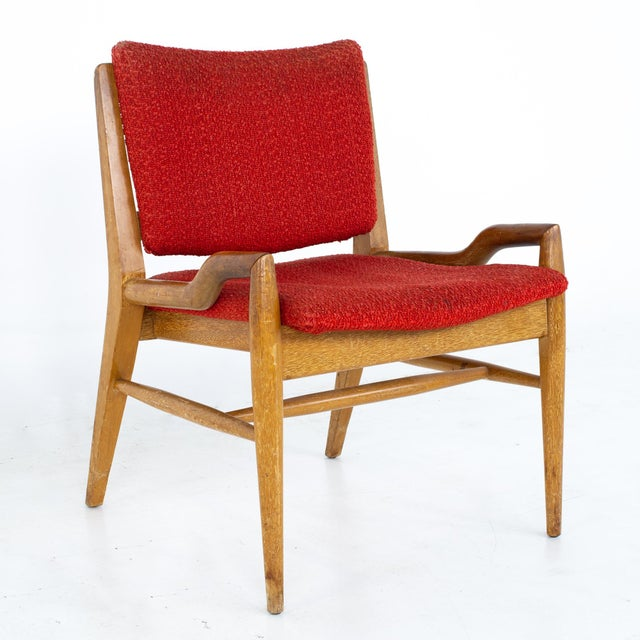 Brown Saltman John Keal for Brown Saltman Mid Century Mahogany Dining Chairs - Set of 4 For Sale - Image 4 of 13