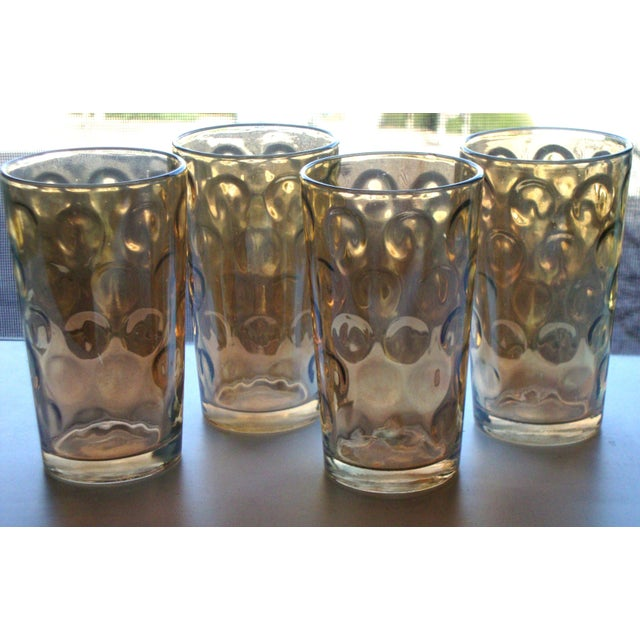 Mid-Century Hollywood Regency High Ball Glasses - Image 3 of 11