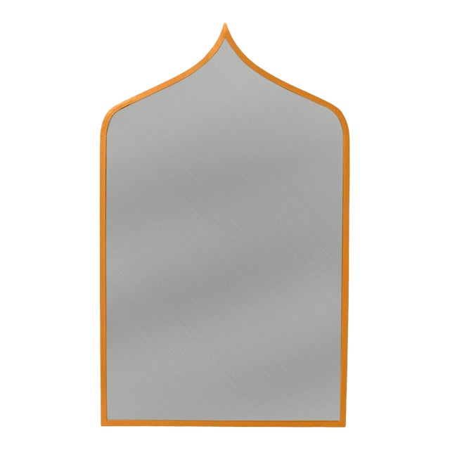 Stray Dog Designs for Chairish Marrakesh Mirror, Curry For Sale
