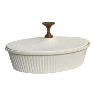 Mid-Century Fluted Casserole by Ernest Sohn Creations For Sale