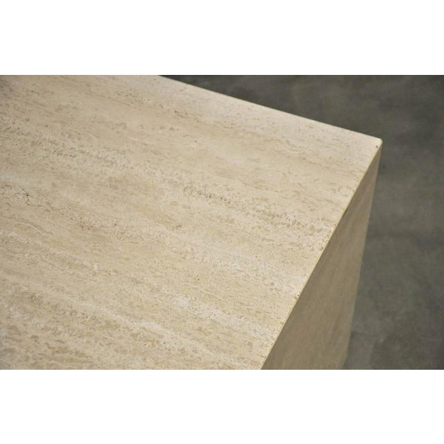 Stone Travertine Coffee Table For Sale - Image 7 of 7