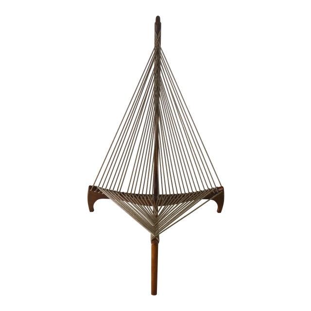 Mid Century Modern Danish Modern Jorgen Hovelskov Harp Chair For Sale