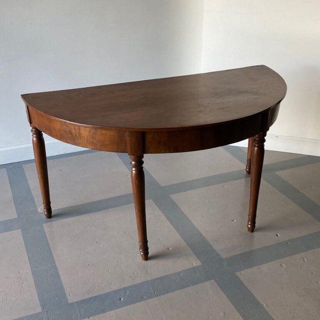 Wood 19th Century Italian Console Tables - a Pair For Sale - Image 7 of 9