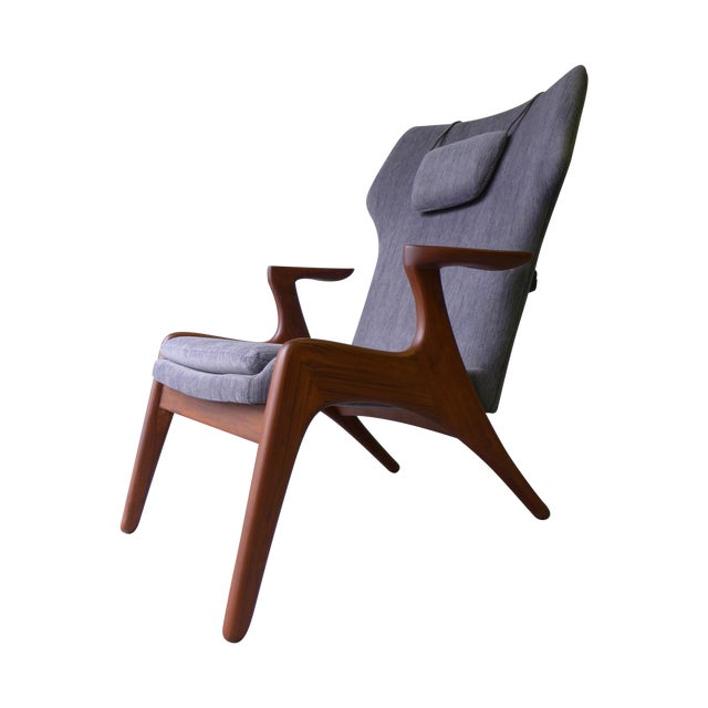 Mid-Century Lounge Chair - Image 1 of 7