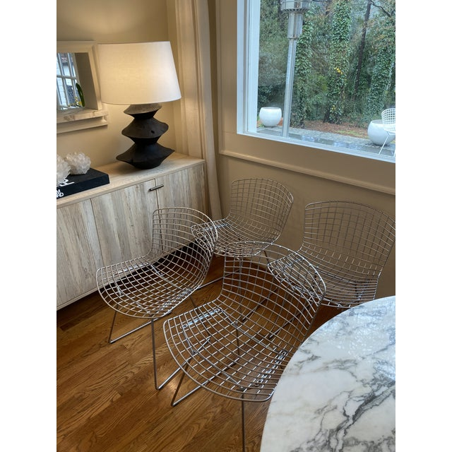 Gorgeous authentic Knoll Bertoia Chairs - amazing condition Selling because I bought the white