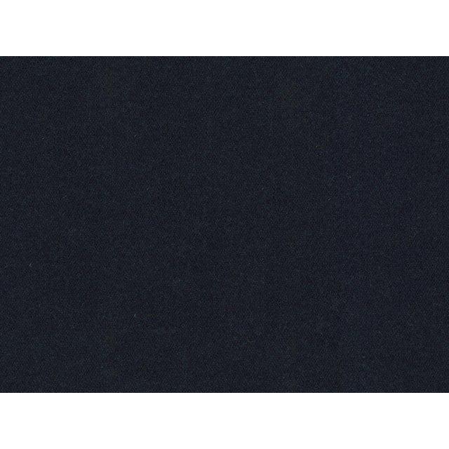 English Tilly Sofa, Navy Performance Velvet, Washed Oak Legs For Sale - Image 3 of 4