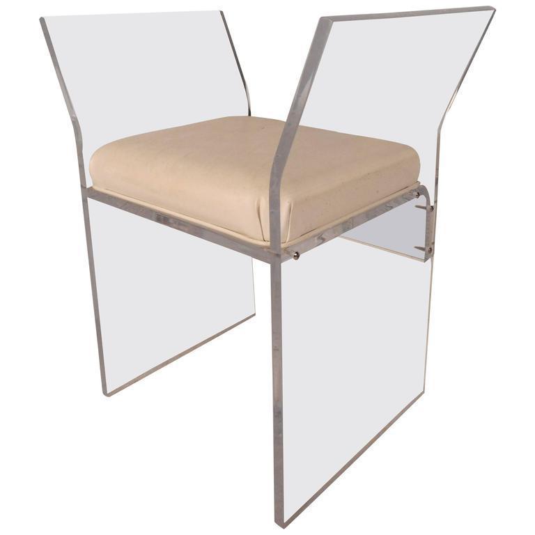 vintage used mid century modern low stools chairish