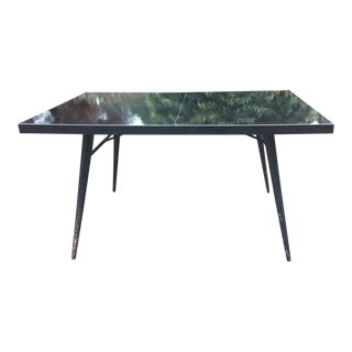 Paul McCobb Black Lacquer Dining Table For Sale