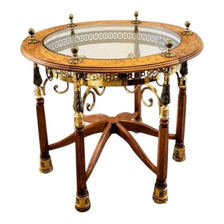 Unique Adolf Loos Style Jugendstil Secession Haberfeld Table For Sale
