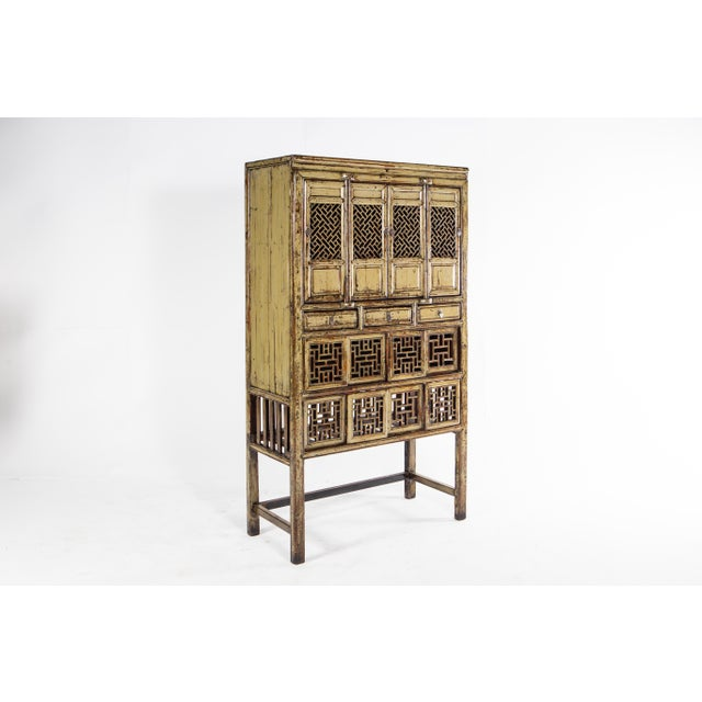 1920s Vintage Chinese Cabinet For Sale - Image 4 of 11