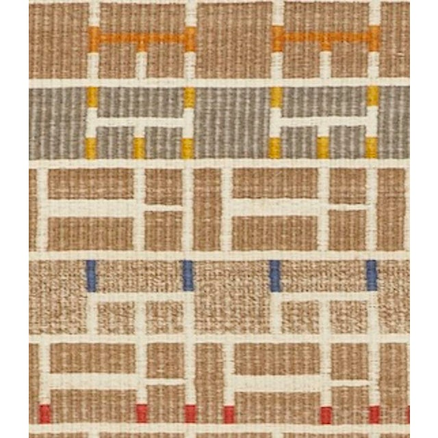 Schumacher Schumacher Patterson Flynn Martin Gropius Hand Woven Sisal Geometric Rug For Sale - Image 4 of 5
