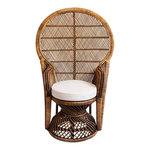 Plantation Peacock Chair - Image 1 of 6