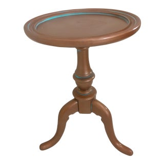 Copper & Patina Painted Accent Table