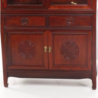 Chinoiserie Style China Display Cabinet Preview