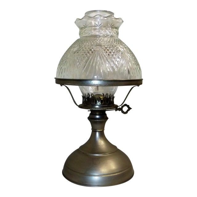 Vintage Kaadan Ltd. Wheatland Oil Lamp For Sale