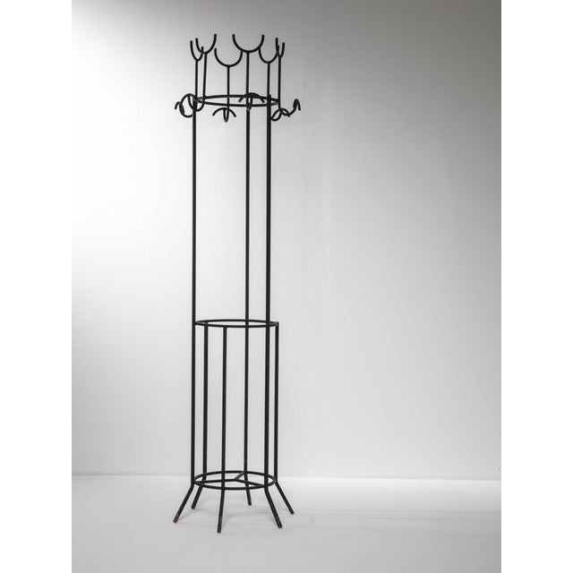 Mid-Century Modern Coat Stand by Franco Campo and Carlo Graffi For Sale - Image 3 of 3