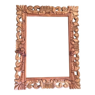 Mexican Hand-Carved Frame For Sale