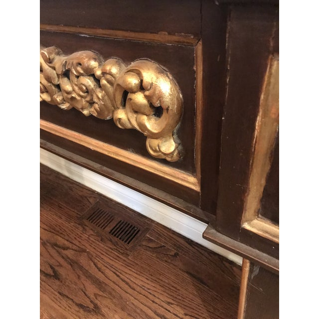 Antique Narrow Neoclassical Italian Console Table For Sale - Image 12 of 12