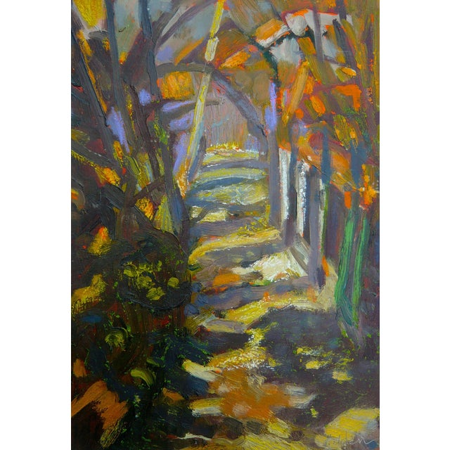 """Path in the Woods"" Original Painting - Image 1 of 7"