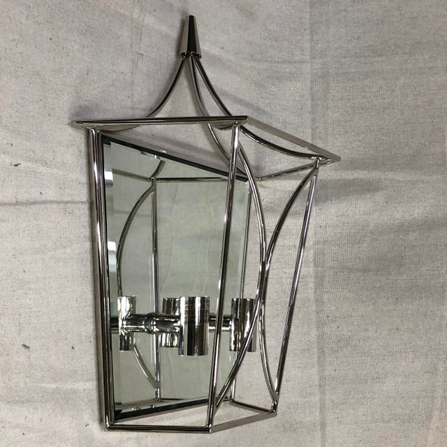 Traditional Kate Spade New York Cavanagh Medium Lantern Sconce For Sale - Image 3 of 8