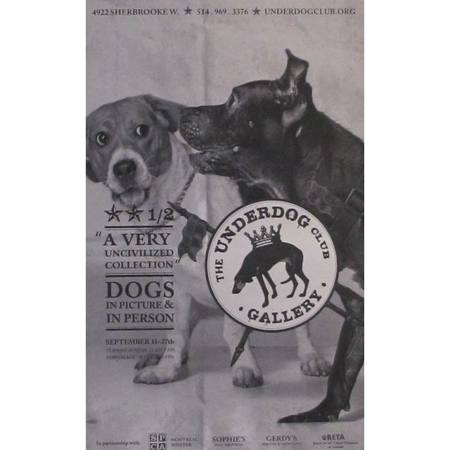 Contemporary Large Underdog Rescue Poster, Civilized For Sale - Image 3 of 4