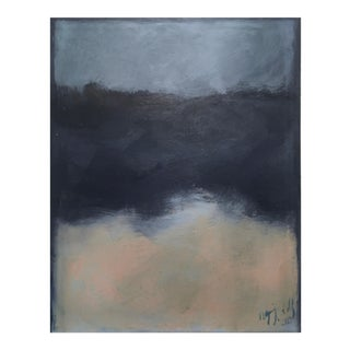 """""""Yet Still"""" Original Abstract Landscape Painting by Maddie Gerig Shelly"""