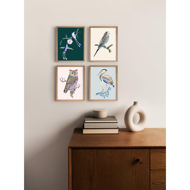 """All giclée prints are digitally recreated from scanned original hand paintings. Paper size 8"""" x 10"""" Full bleed Archival..."""