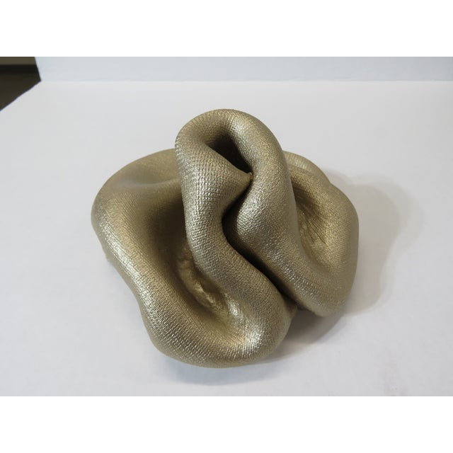 My Sinuosity sculptures are created blending a unique mixture of industrial woven nylon fabric with a refined powdery...