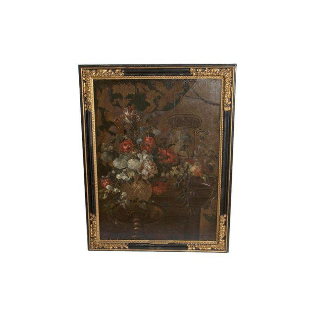 Early 20th Century Oil on Canvas in Manner of Pierre Nicolas Huilliot For Sale - Image 13 of 13