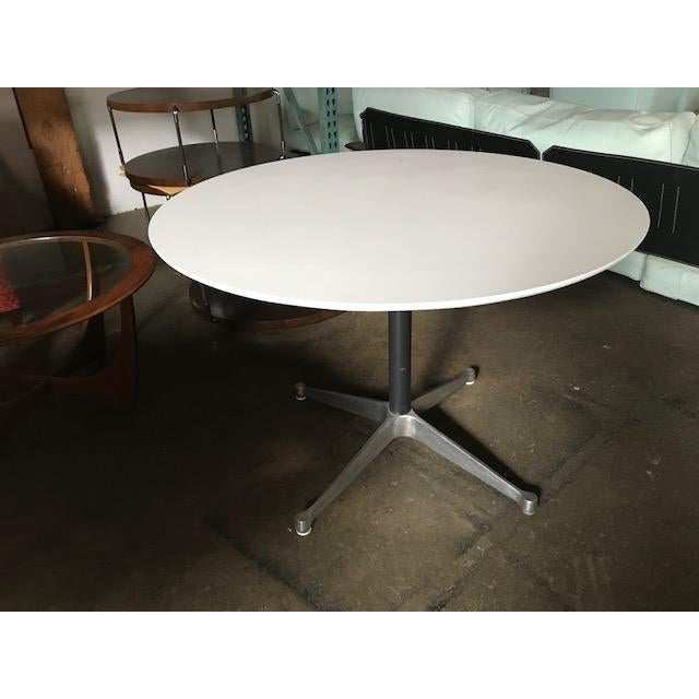 Eames Mid-Century Eames Table For Sale - Image 4 of 4