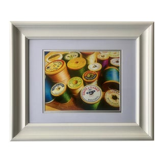 "Still Life Photograph ""Spools of Thread"" Wall Art For Sale"