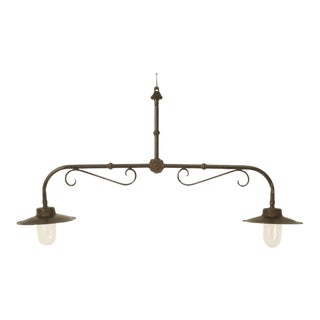 French Country Kitchen or Pool Table Light For Sale