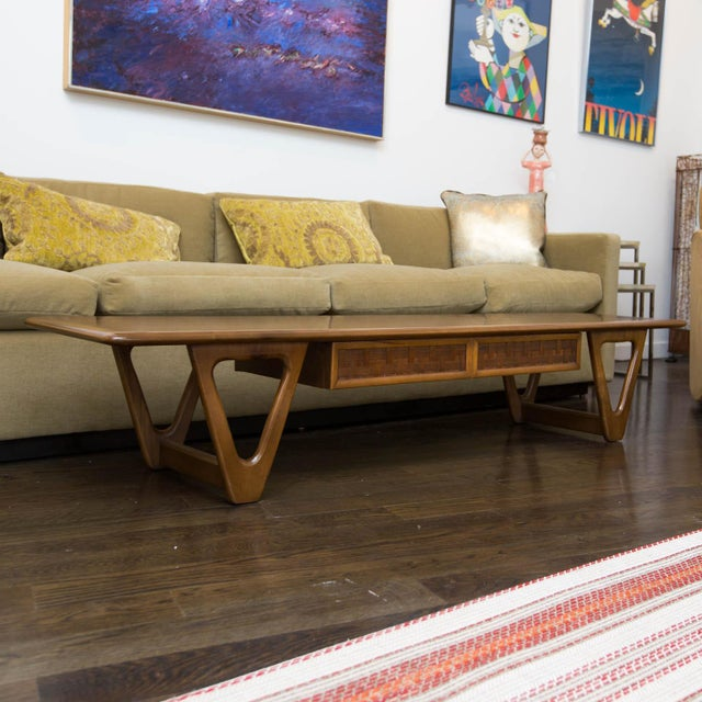 Lane Perception Coffee Table in Walnut - Image 2 of 11