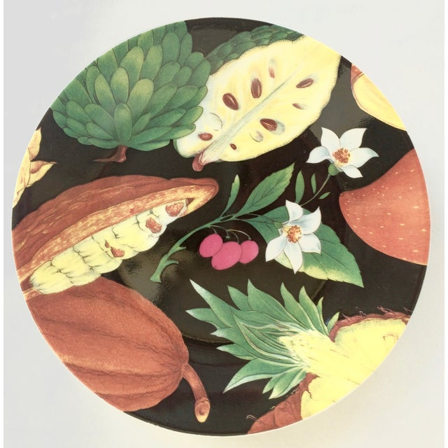 Limoges Tropical Fruits Canape Plates - Set of 10 For Sale In Palm Springs - Image 6 of 8