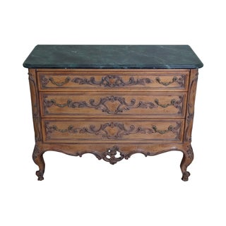 Vintage Rococo Style Bachelors Chest For Sale