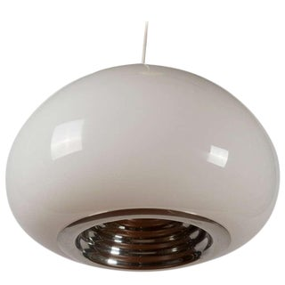 """Black & White"" Pendant Lamp by Castiglioni for Flos For Sale"