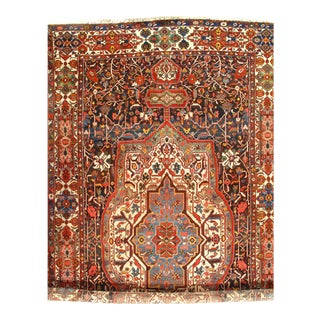 "Pasargad NY Antique Persian Bakhtiari Hand-Knotted Rug - 11'3"" x 19'7"""