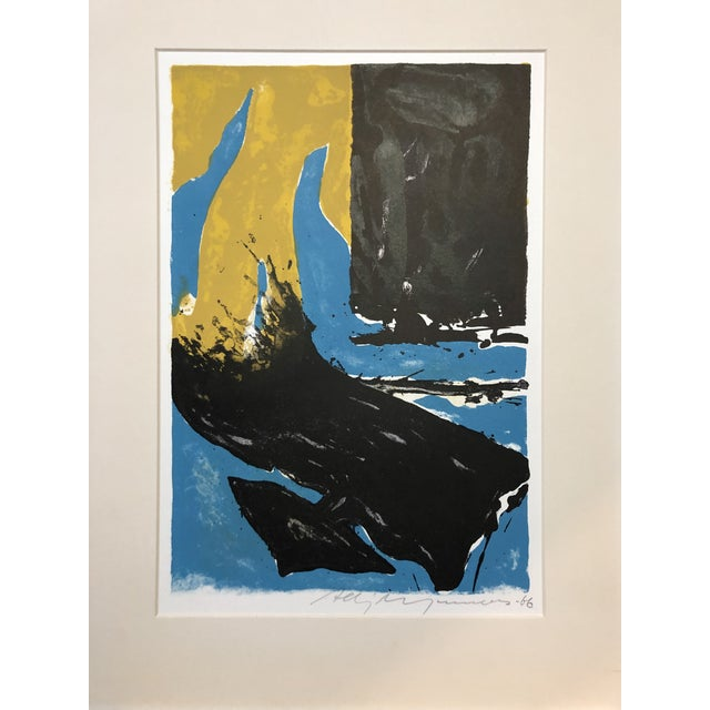 1966 Abstract Lithograph New York Artist For Sale - Image 10 of 10