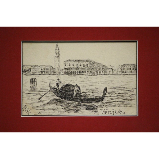 Postcard Drawings From Italy For Sale In New York - Image 6 of 10