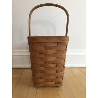 Longaberger Hand Woven Basket Preview