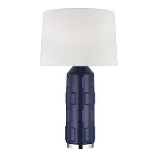 Morada Large Table Lamp Indigo For Sale