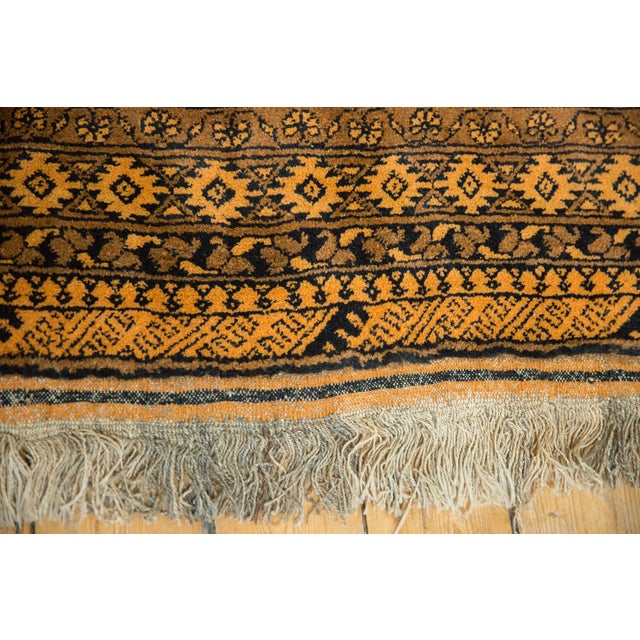 "Old New House Vintage Daulatabad Carpet - 8'2"" X 11'7"" For Sale - Image 4 of 13"
