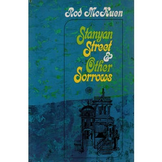 """1966 """"Stanyan Street & Other Sorrows"""" Collectible Book For Sale"""
