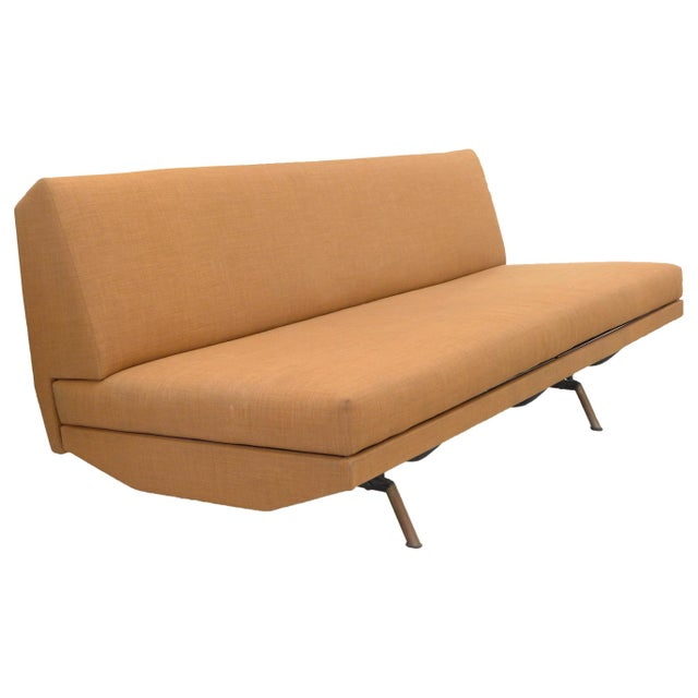 Metal Mid-Century Modern Sofa, Daybed, Lounge by Marco Zanuso for Airflex For Sale - Image 7 of 7