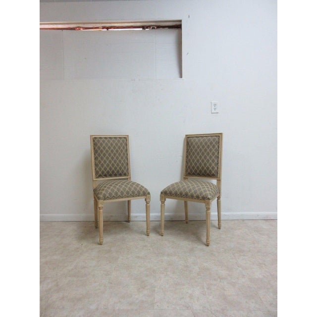 Ethan Allen Swedish Side Chairs - A Pair For Sale - Image 11 of 11