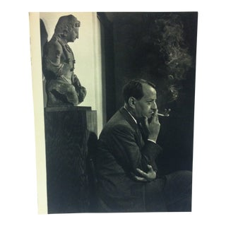 "Black & White Print on Paper, ""Andre' Malraux"" by Yousuf Karsh, 1967 For Sale"