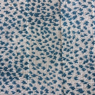 Colefax and Fowler Animal Malabar Blue Fabric For Sale